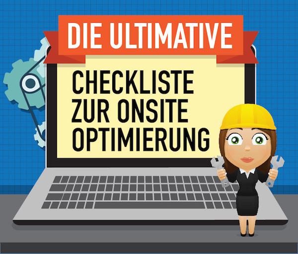 Checkliste für OnPage Optimierung